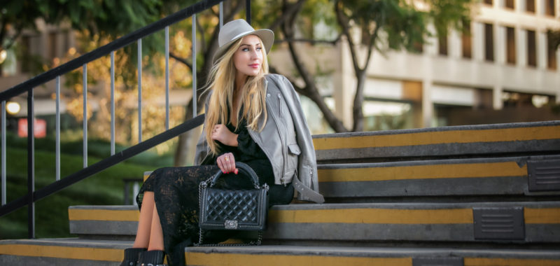 Street Style: Mixing Textures